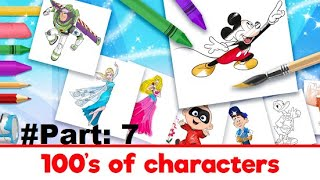 Disney Coloring World Android Gameplay Part 7 ★★★★★