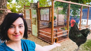Building the ULTIMATE CHICKEN COOP for our Backyard Chickens! 🐔