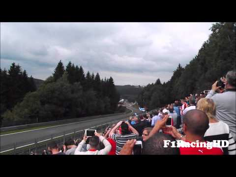 Formula 1 (F1) 2013 Cars Pure Engine Sound