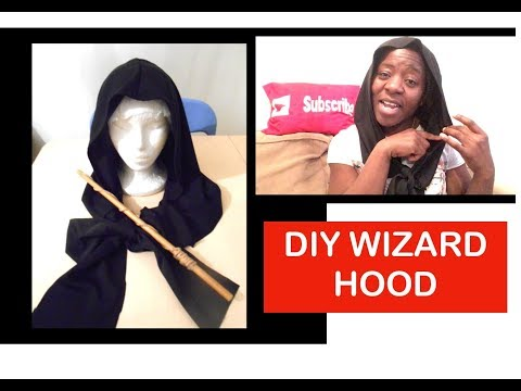 DIY Wizard Hood (Inspired by Harry Potter)