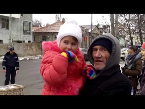 Protest la Chişinău contra amnistiei şi graţierii din România - Curaj.TV