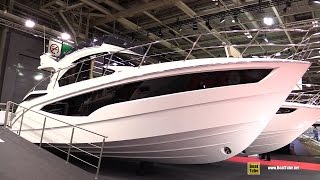 2017 Galeon 360 Fly Motor Yacht - Deck and Interior Walkaround - 2016 Salon Nautique Paris