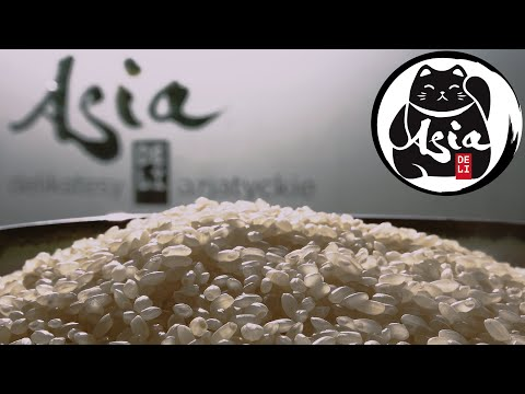 Jak ugotować ryż do sushi - przepis Asia Deli