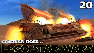 "LEGO STAR WARS The Complete Saga Ep 20 - ""The Daring Rescue!!!"""
