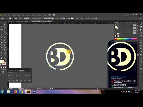 adobe Illustrator cs6 hang tag Design and Satting Sheikh Fazle part 02