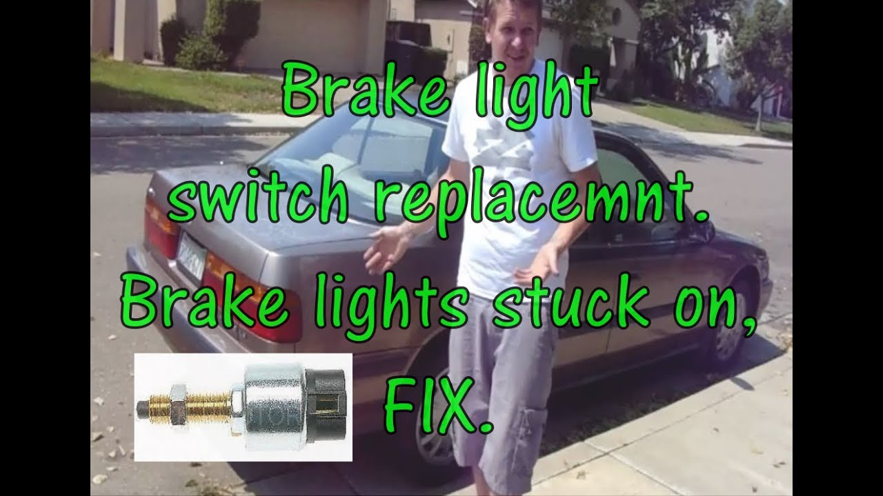 brake light switch replacement on a honda accord butits the same on hella vehicles  [ 1280 x 720 Pixel ]