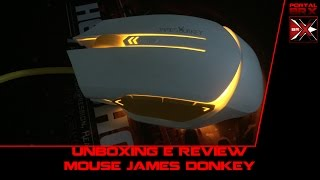 unboxing e review mouse james donkey by banggood brx