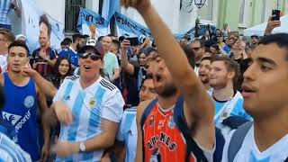 Watch :Mexico v. Argentina  - Fans Clash ...In World Cup 2018...