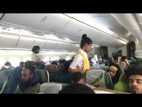 Ethiopian Airlines||Trip From China To Ethiopia!!!