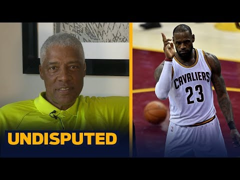 Julius Erving on who's the GOAT: LeBron or Michael Jordan, weighs in on Lonzo Ball | UNDISPUTED