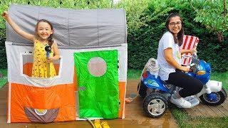 Öykü'nün Yeni Karavanını Su Bastı - Toy Kids Carriage - Funny Oyuncak Avı