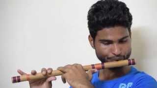ramaiya vastavaiya (Jeene lga hu) on flute