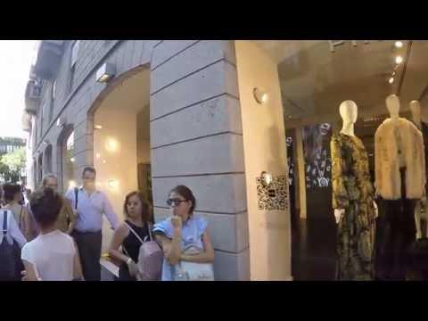 Via Montenapoleone Milano Boutique Tour GOPR0465