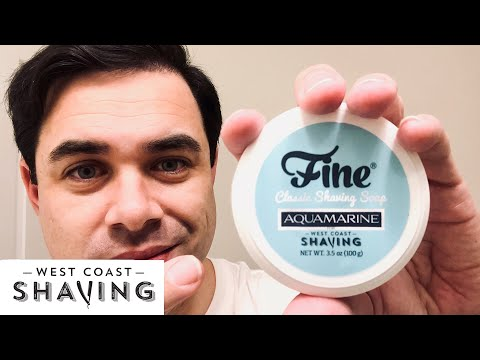 AQUAMARINE by Fine Accoutrements | The Daily Shave from YouTube · Duration:  16 minutes 54 seconds
