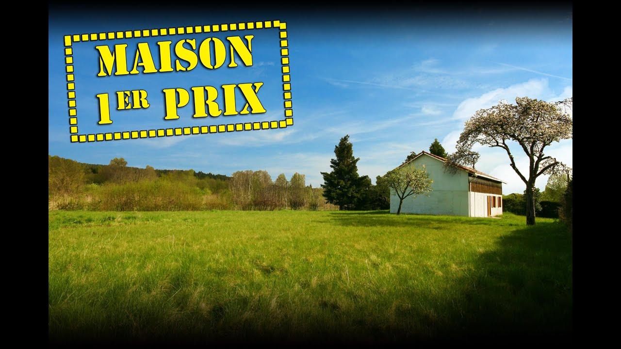 Maison Ossature Bois Vosges a vendre maison ossature bois, 13 mn de st-die-des-vosges (88100)