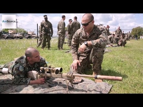 US, Romanian, Armenian And Bulgarian Militaries Check Out Each Other's Weapons