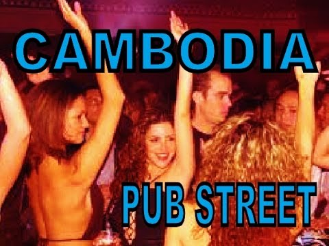 PUB STREET PARTY TIME, SIEM REAP CAMBODIA 2015 [ full HD ]
