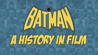 The Caped Crusader has a long history on the screen. Longer than many realize. Let's trace the ups and downs of The Batman in all his iterations through film ...