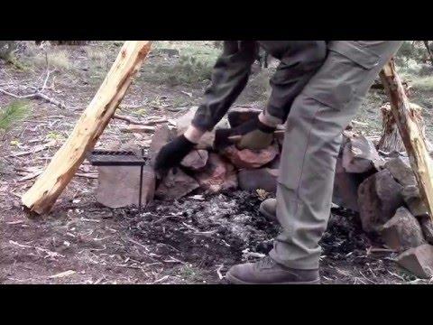 Car Camping - Bushcraft - Shooting - Highlights from the Oregon High Desert