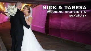 Nick and Taresa Wedding Highlights - Pittsburgh Field Club Wedding