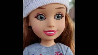 barbee0913 and kewpie83 talk about 18 inch dolls and show you some exclusive Arora dolls