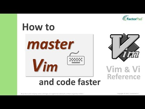 Master Vim - Learn How To Go From Vim Beginner To Expert Faster