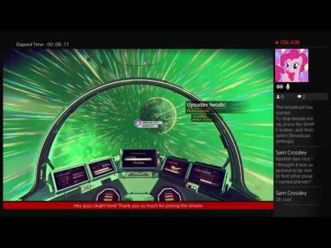 No Mans Sky: The Galactic Patrol federation: MULTIPLAYER!!!!!! I found another players planet