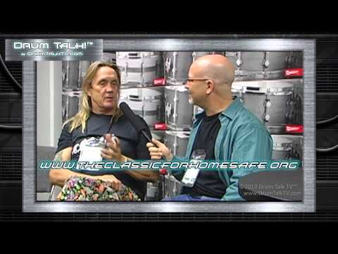 Nicko McBrain Playing with Pat Travers again? Special Announcement on Drum Talk TV!