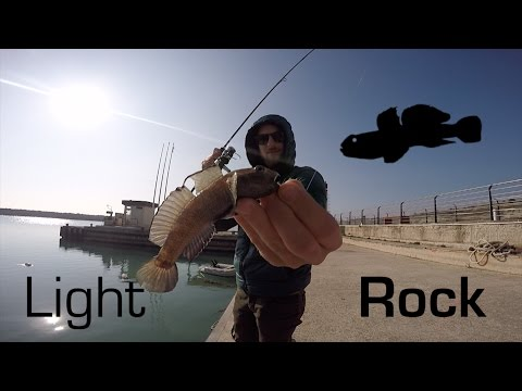 canna light rock fishing decathlon