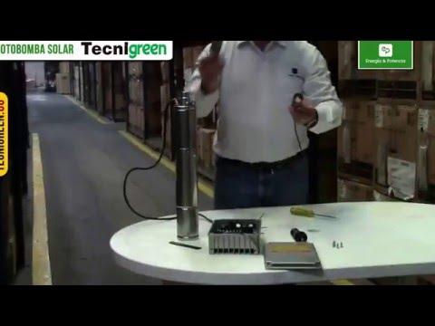 Motobombas Solares Tecnigreen – Energías Alternativas