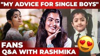 Rashmika Mandanna Answers Fan Questions