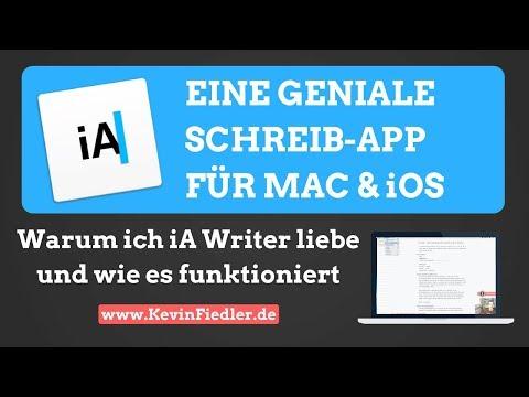 Geniale Schreib-App für Mac & Smartphone | iA Writer - Tutorial #Tools