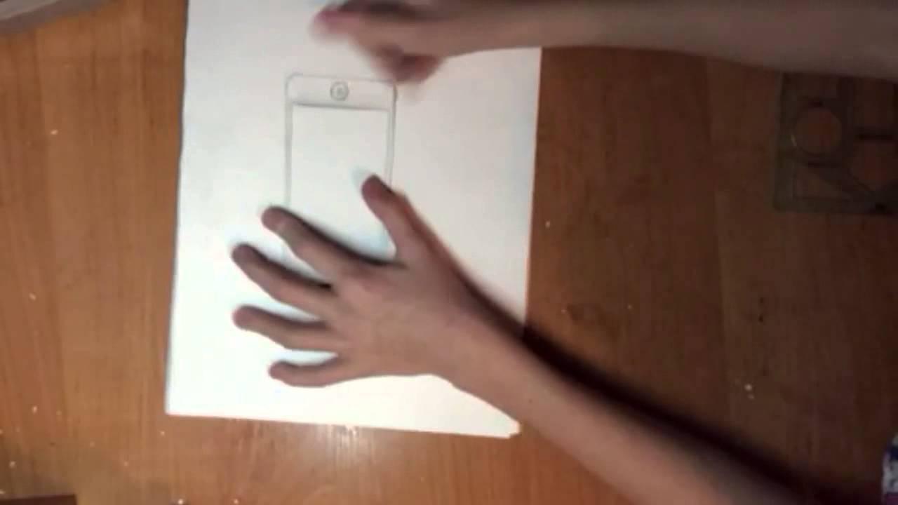 как нарисовать в айфоне на фото