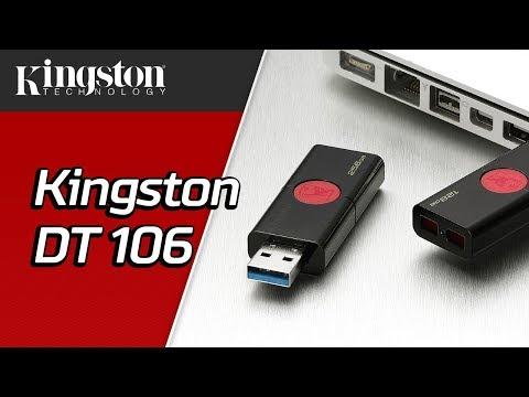 USB-накопитель без колпачка, USB 3.1, 16 ГБ-256 ГБ - DataTraveler 106 – Kingston Technology