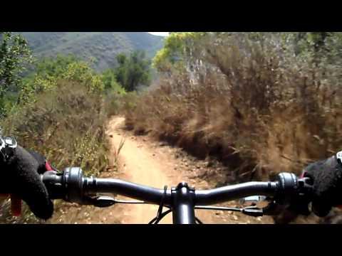 Pt. Mugu Sycamore Mountain Biking Wood Canyon Overlook Downhill