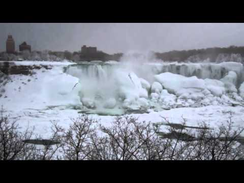 Niagara Falls Freezing - 5 March 2014