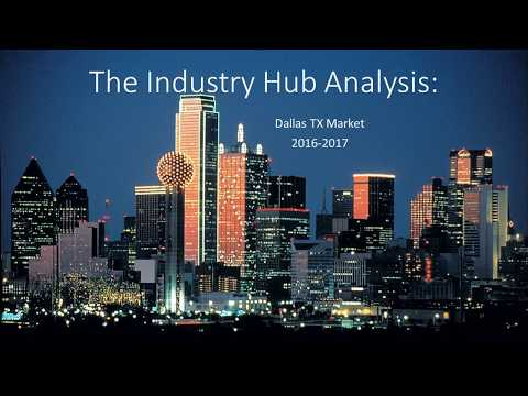 The Industry Hub:  Dallas TX Analysis