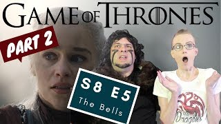 Download Game Of Thrones | S8 E5 'The Bells' - Part 2 | Reaction | Review Mp3 and Videos