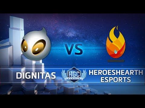 Team Dignitas vs HeroesHearth vod