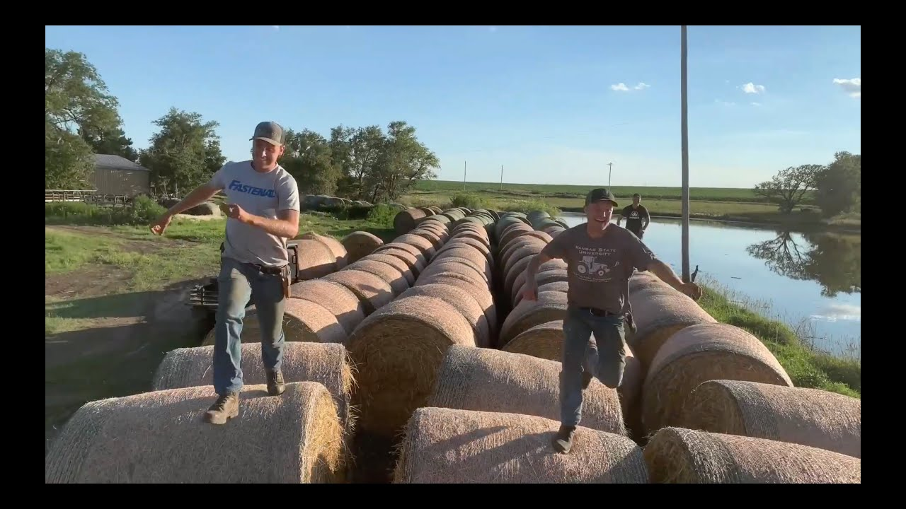 Peterson Brothers HAY BALE RACE! *HitchPin UTV Giveaway*