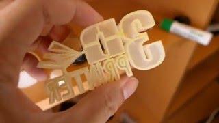 【高性能3Dプリンター】動作の様子をご紹介します。