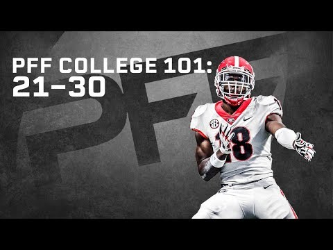 2018 Best Players in College Football: 21-30 | PFF College 101