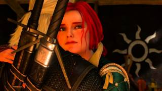 Ведьмак 3: Дикая Охота - Диалог с Трисс перед последней битвой