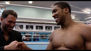 '100% - IF YOU CANT BEAT THEM, JOIN THEM' - ANTHONY JOSHUA  CONFIRMS HIS FUTURE TO EDDIE HEARN!