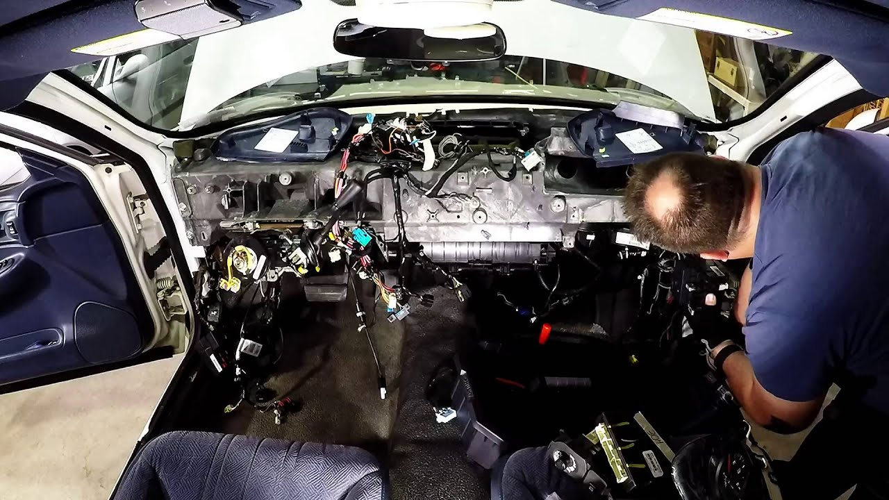 Impala Main And Dashboard Wiring Harness Body Control
