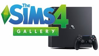 SIMS 4 'GALLERY' ON CONSOLE!