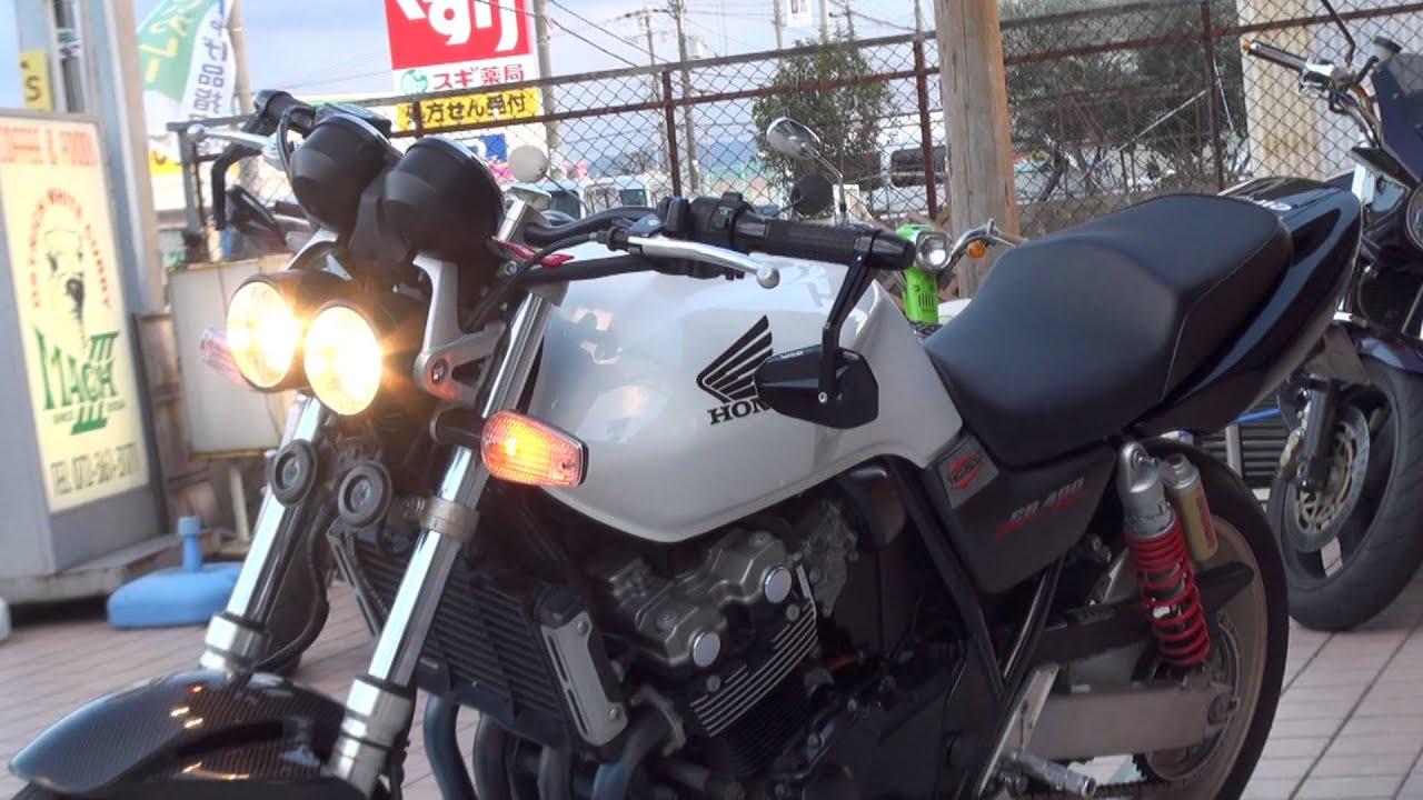 cb400sf hyper vtec revo nc42 cb400 super four youtube honda cb400sf manual Honda CBX 500
