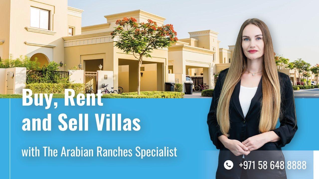 Buy & Rent Villas in Arabian Ranches, Dubai