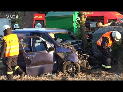 23.07.2019 - VN24 - Teil1 - Fataler Unfall In Werne - Motor Fliegt 20 Meter Weit