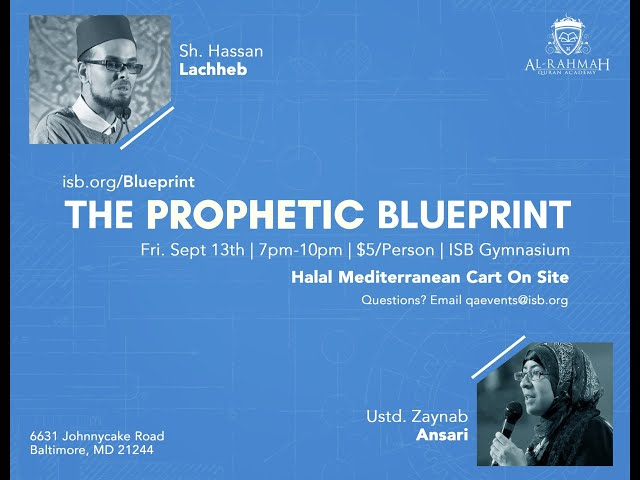 The Prophetic Blueprint - Sh Hassan Lachheb